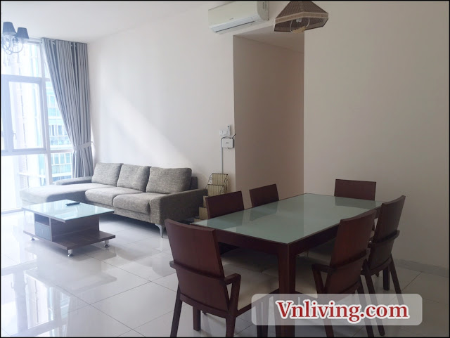Tower 3 3 bedrooms The Vista Apartment for rent high floor