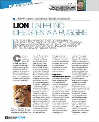 Lion, un felino che stenta a ruggire