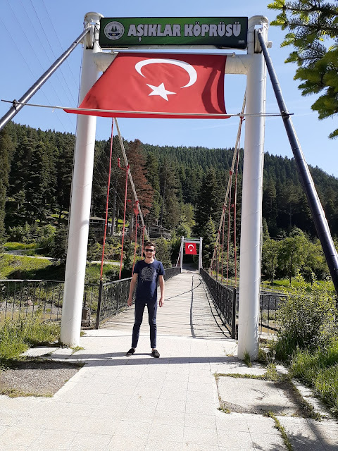 Harun İstenci Azdavay'da Aşıklar Köprüsünde. | Azdavay, Kastamonu - Haziran 2019