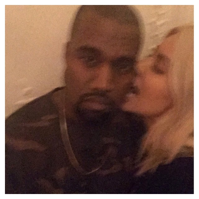 Kim Kardashian Announces Anal S*x With Kanye? Captions Photo With Eggplant  & Peach