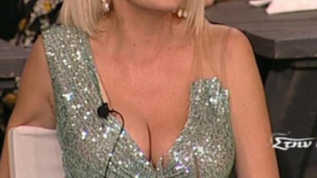 Το αβυσσαλέο ντεκολτέ της ζάλισε τους τηλεθεατές του ΣΚΑΙ! (video)