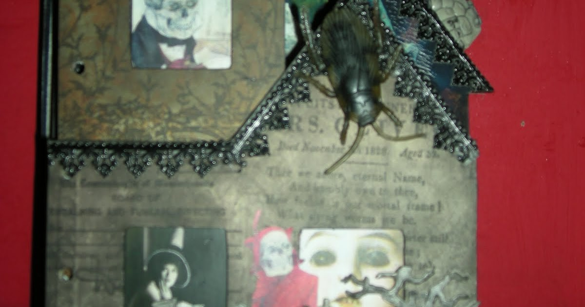 Artzhodgepodge Haunted House Creepy Crawly Spooky