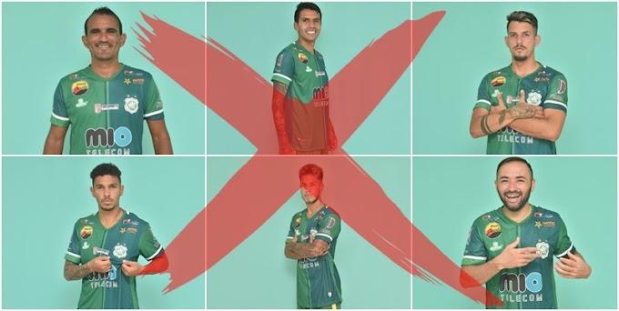 Nacional de Patos dispensa seis jogadores após derrota no Paraibano; veja a lista