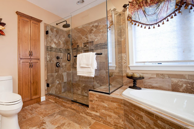 small bathroom remodel ideas with corner shower