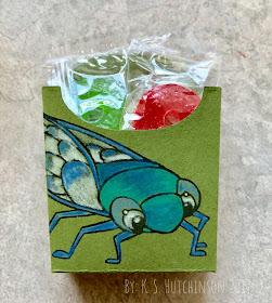 cute cicada box