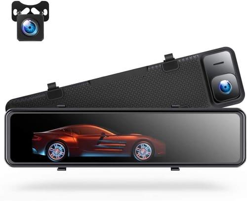 TOGUARD CE80 4K Mirror Car Dash Cam Backup Camera