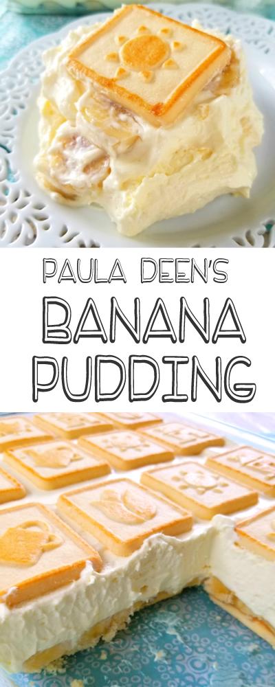Recipe Paula Deen's Banana Pudding
