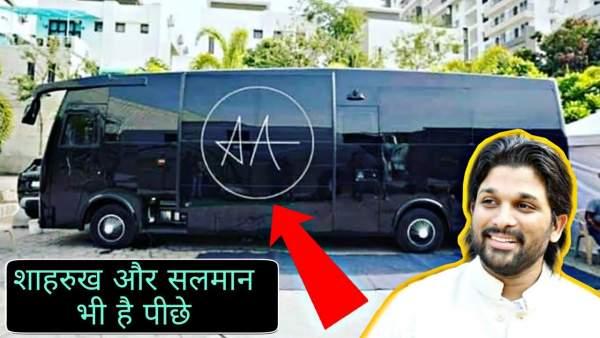 allu arjun new vanity van