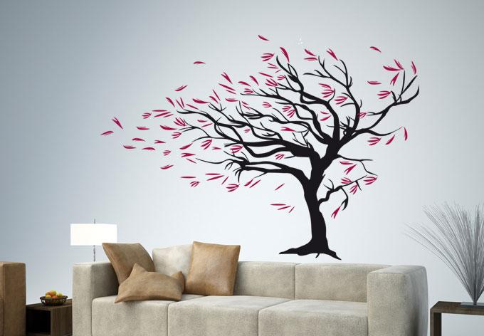 design Adesivos de parede para fácil idéias de design de interiores