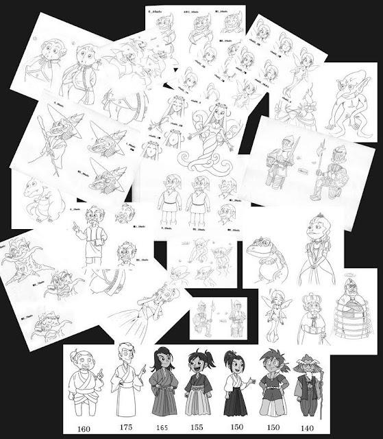 任天堂、DS、キャラクター、設定、おとぎ話、英語、江戸時代、  挿絵、イラスト、絵、ロールプレイングゲーム、エンディング、シーン、イラストレーター検索、イラストレーター一覧、イラスト制作、イラスト