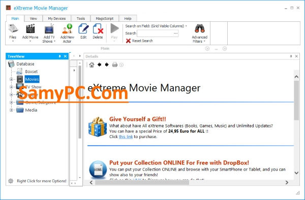 eXtreme Movie Manager Free Download Full Latest Version