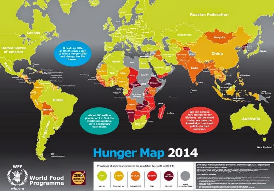 Cartina Fame Nel Mondo.Energie Rinnovabili Mappa Della Fame Nel Mondo