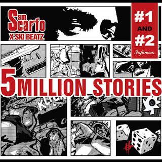 Sam Scarfo & Ski Beatz - 5 Million Stories, Vol. 1 & 2 (2016) - Album Download, Itunes Cover, Official Cover, Album CD Cover Art, Tracklist
