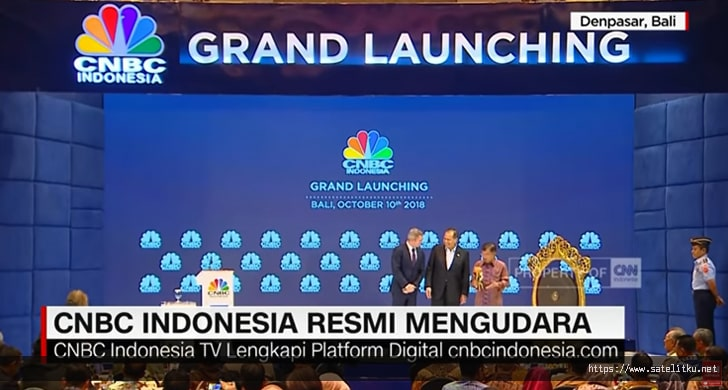Frekuensi Channel Terbaru CNBC Indonesia di Telkom 4