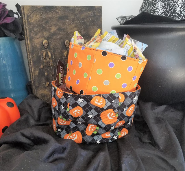 how to make a fabric bucket