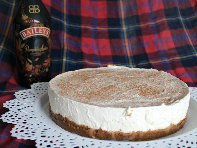 Bailey's Pumpkin Spice Cheesecake Recipe
