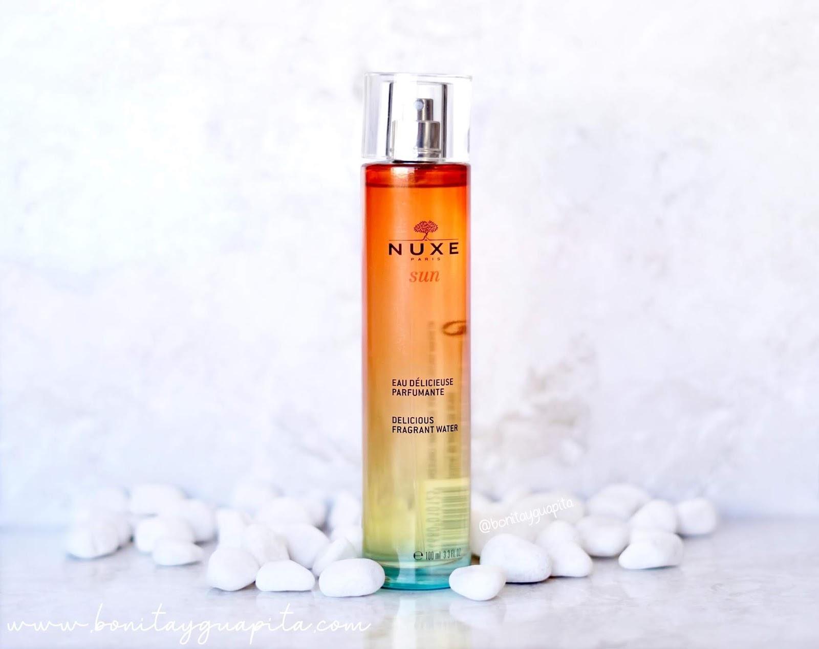 Agua deliciosa perfumada -Nuxe