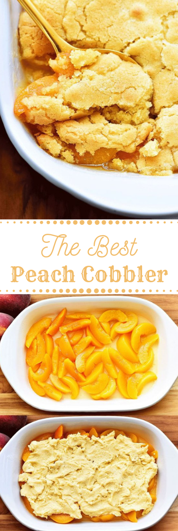 The Best Peach Cobbler #peach #die #recipe #salad #cake