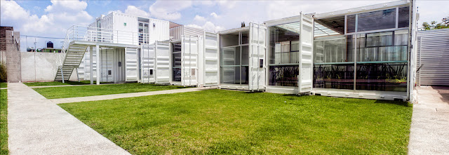 La Secundaria Valladolid - Modular Shipping Container School, Mexico 7