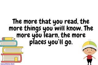 joyful reading quotes for kids