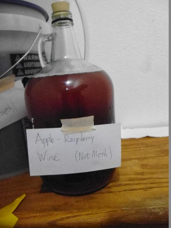This is wine, not meth