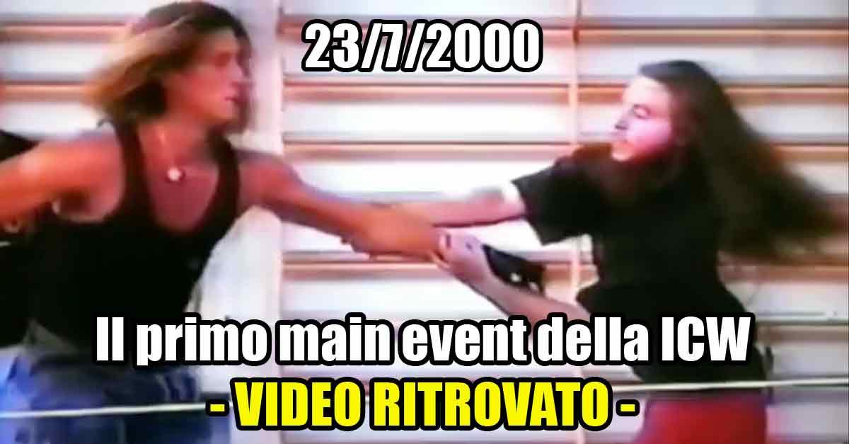 Frost e Manuel Majoli a ICW ''Inauguration Day'' del 2000, primo show della Italian Championship Wrestling