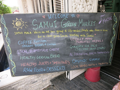 Samui Green Market today