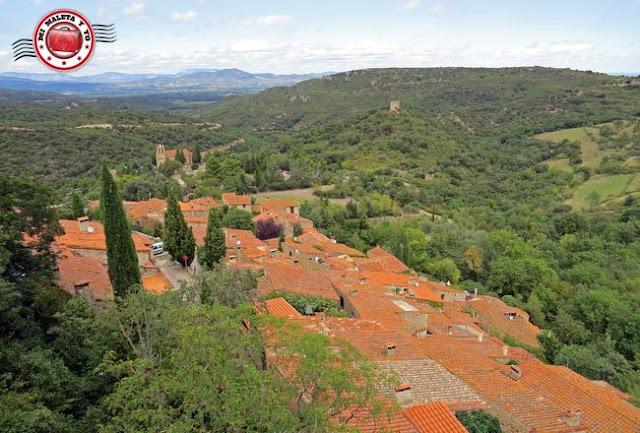 Castelnou, Francia - Vistas desde el Castillo