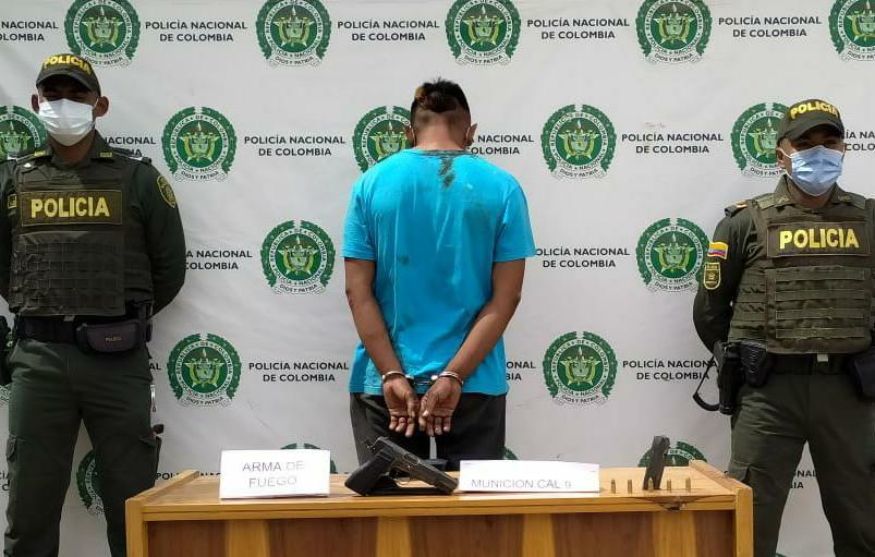 hoyennoticia.com, Capturado atracador en Uribia