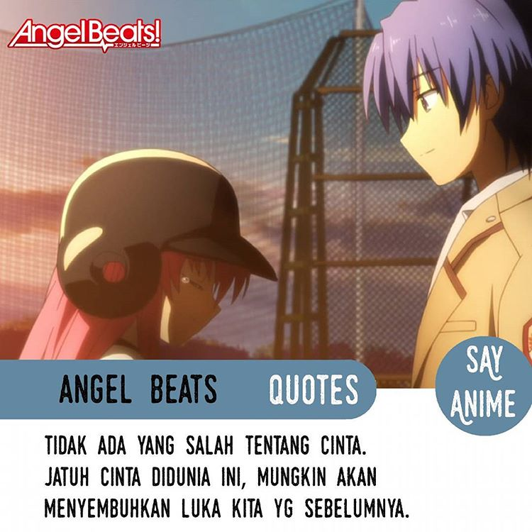 hans christian karunia anime quotes angel beats