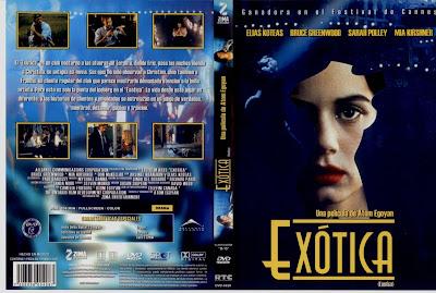 Carátula dvd: Exótica (1994)
