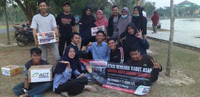 Komunitas di Lampung Galang Dana untuk Korban Asap Karhutla