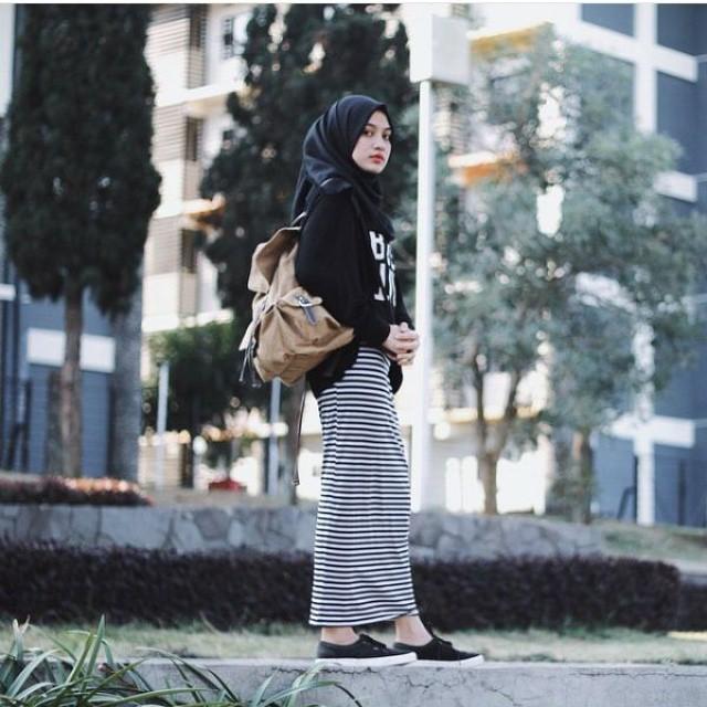 40+ Inspirasi Desain Busana Muslim Remaja Terbaru 2018