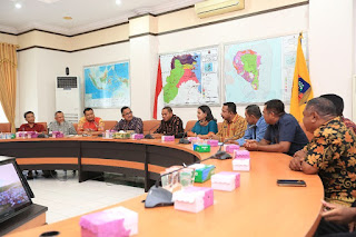 Wali Kota TarakanBeserta Jajaran Menerima Kunjungan Kerja Pemerintah Kabupaten Flores Timur