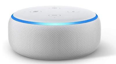 Review:  AMAZON Echo Dot (3rd Gen)  Smart speaker with Alexa