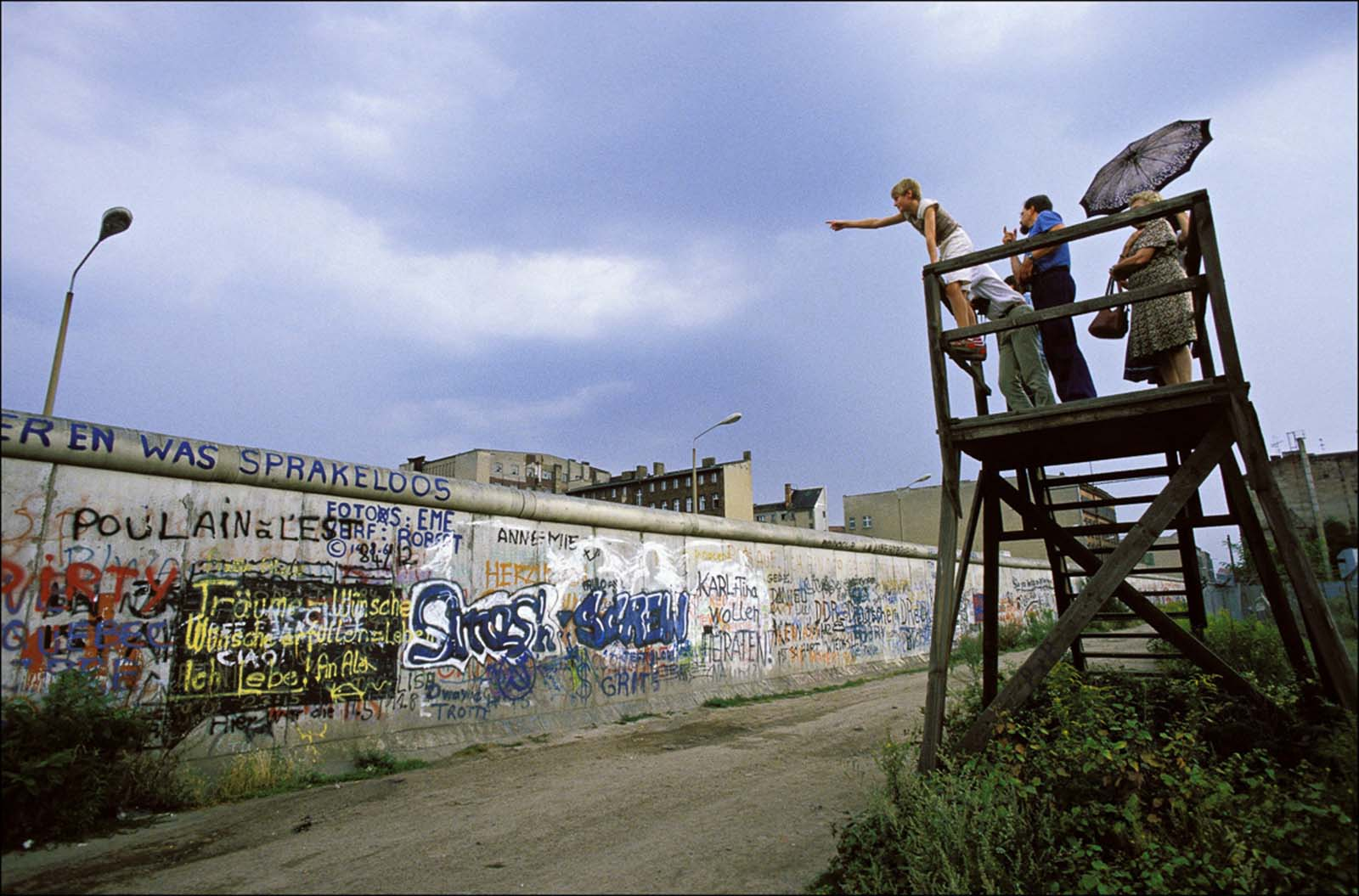 Everyday life along the Berlin Wall, 1985-1986