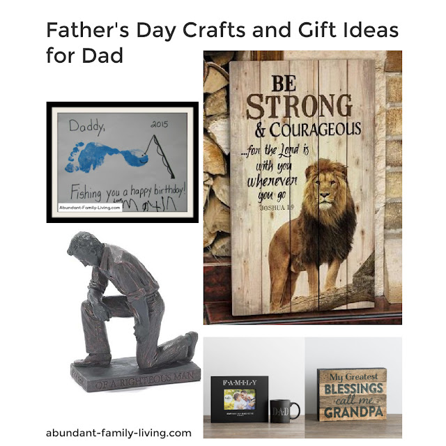Father's Day Crafts and Gift ideas for Dad