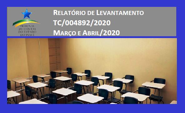 Levantamento do TCE/PI aponta que Elesbão Veloso e outros 15 municípios disponibilizam aulas remotas