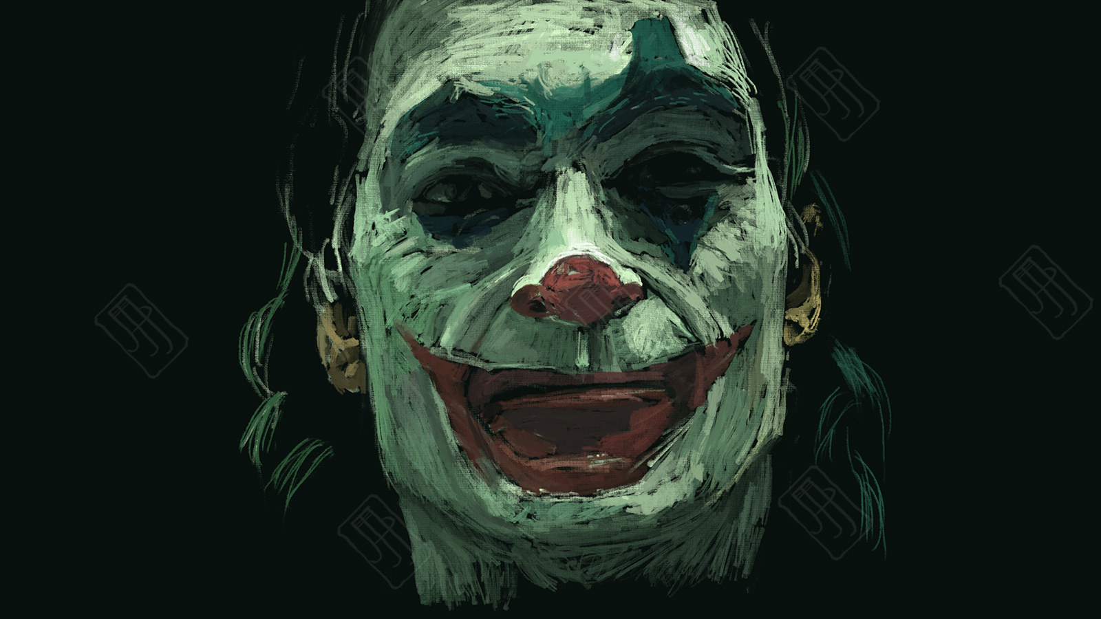 Digital Painting 103 Joaquin Phoenix Joker Michele