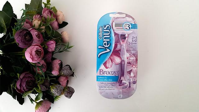 Gillette Venus Breeze Kadın Tıraş Makinesi