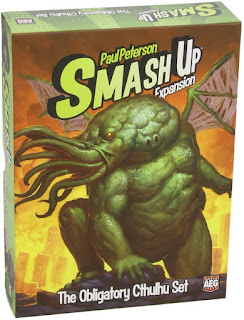 Smash Up la expansión obligatoria Cthulhu board game