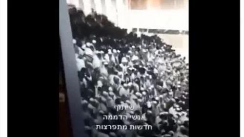 Brutal 'Ganyang' Palestina, Rumah Ibadah Yahudi Ambruk Sendiri dan Ratusan Cedera, Israel Kena Karma?