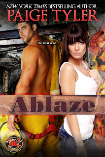 ABLAZE (Dallas Fire & Rescue 2) by New York Times Bestselling Author Paige Tyler