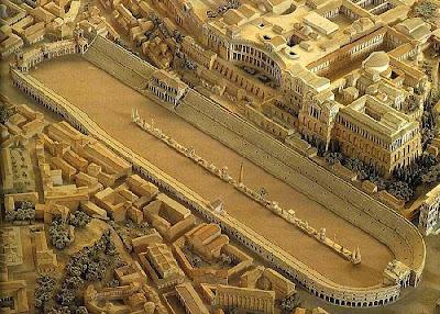 Resultado de imagen de recreacion del Circo romano de Toledo