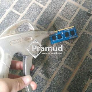 tutorial bagaimana cara memperbaiki memori ram yang mati - pramud blog