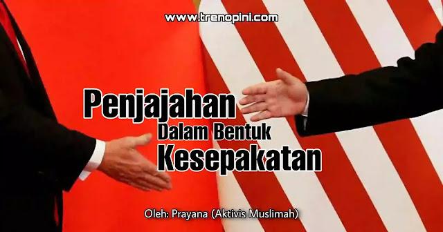 Indonesia mengalami dilema, dimana satu sisi ada AS dan disisi lain ada Cina. Ini menunjukkan lemahnya politik luar negeri Indonesia. Indonesia tidak bisa bersikap tegas dalam mengambil keputusannya sendiri tanpa harus disetir atau dikontrol oleh negara lain. Semua kebijakannya pasti didekte oleh negara lain.