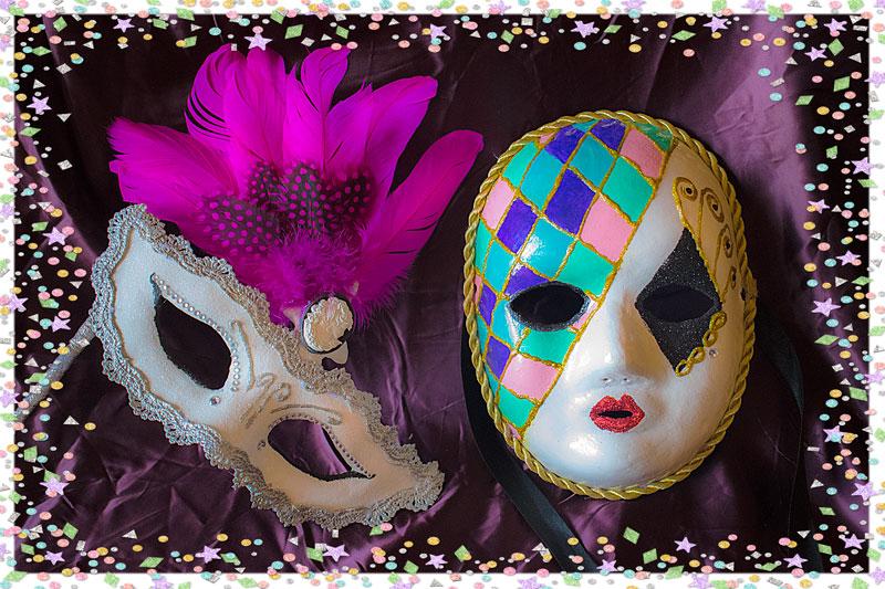 Planeta virtual c mo hacer y decorar m scaras de - Mascaras venecianas decoracion ...
