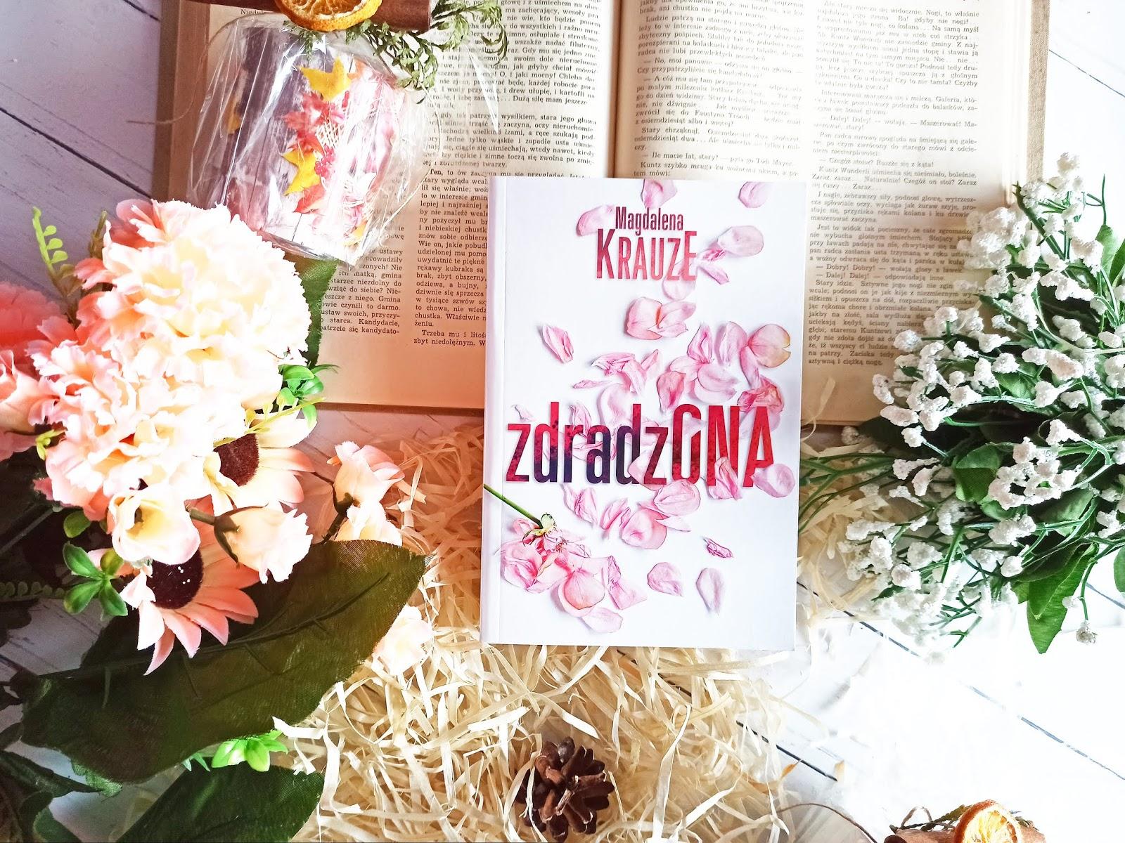 """""""Zdradzona"""" - Magdalena Krauze"""