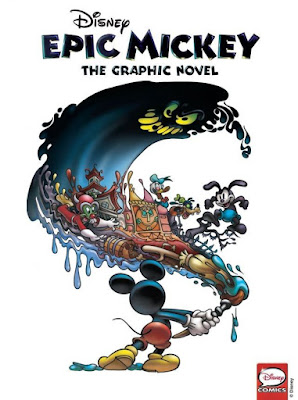 "Cover for the digialt edition of ""Epic Mickey - The Graphic Novel"""