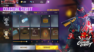 This is free fire elite pass